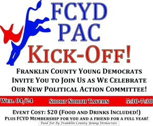 FCYD PAC Kick-Off Flier